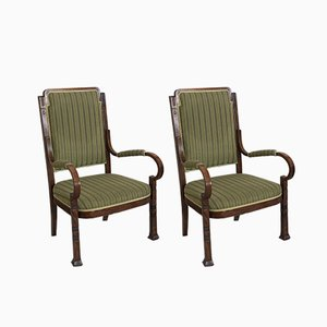 Antique Nr 14 Salon Armchairs from Thonet, Set of 2