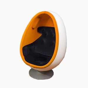 Swedish Ovalia Egg Lounge Chair by by Henrik Thor-Larsen, 1970s