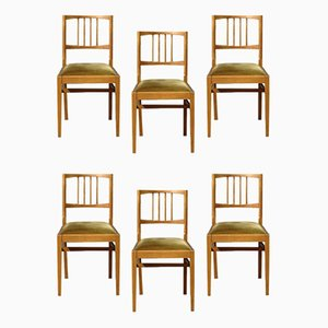 Mid-Century Walnut Dining Chairs by Vanson Peter Hayward for Vanson, 1960s, Set of 6