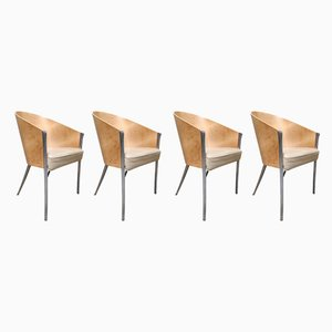 Vintage King Costes Chairs by Philippe Starck for Aleph, 1990s, Set of 4