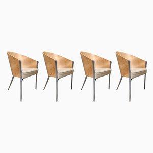 Vintage King Costes Stühle von Philippe Starck für Aleph, 1990er, 4er Set