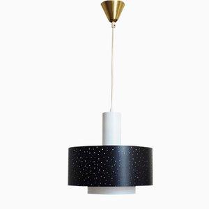 Deckenlampe von Ernest Igl für Hillebrand Lighting, 1950er