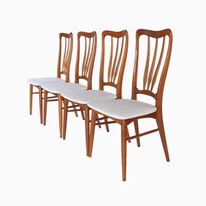 Ingrid Esszimmerstühle aus Teak von Niels Koefoed für Koefoeds Hornslet, 1960er, 6er Set