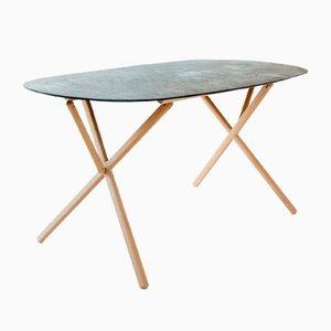 Table X par Andree Weissert pour Bazar Noir
