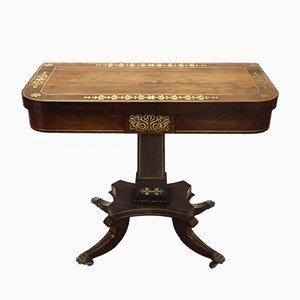 Tavolino antico in palissandro di John McLean
