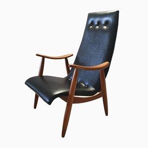 Mid-Century Sessel von Louis van Teeffelen für WéBé, 1950er