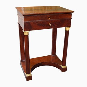 19th-Century Empire Side Table