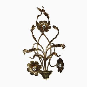 Antique Gilded Sconce