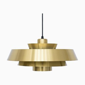 Brass Nova Ceiling Lamp by Jo Hammerborg for Fog & Mørup, 1960s
