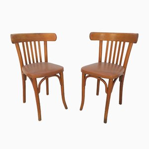 Bistro Chairs by Michael Thonet, 1950s, Set of 2