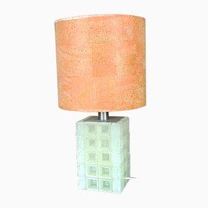 Tischlampe von Albano Poli für Poliarte, 1970er