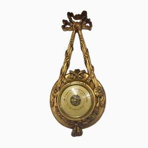 Niederländisches Barometer aus Eiche, 1920er