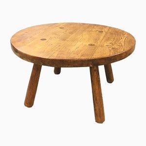 Oak Coffee Table, 1950s