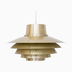 Lampada da soffitto Verona di Svend Middelboe per Nordisk Solar, anni '60
