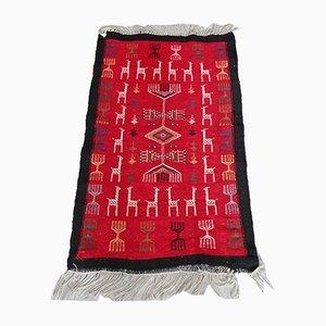 Handwoven Wool Rug, 1960s