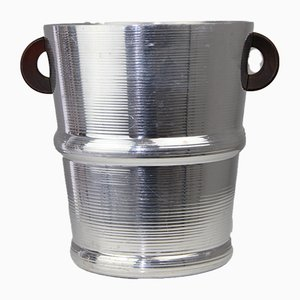 Anodized Aluminum Champagne Bucket by Fritz August Breuhaus de Groot for Zeppelin Metallwerke, 1930s