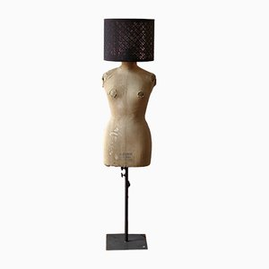 Vintage French Mannequin Floor Lamp, 1960s