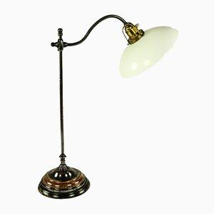 Lámpara de mesa de cobre, años 20
