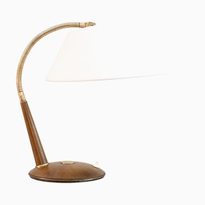 Model 31 Teak Ceiling Lamp from Temde AG, 1960s