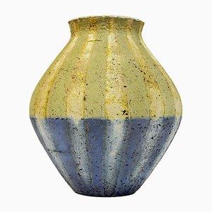Schwedische Modell Pikea Keramikvase von Mari Simmulson für Upsala Ekeby, 1960er