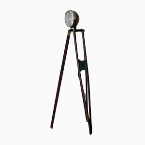 Lámpara de pie industrial vintage, años 30