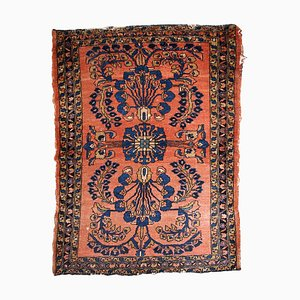 Roter orientalischer Teppich, 1920er
