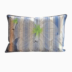 Flowers and Stripes Uno Cushion from GAIADIPAOLA