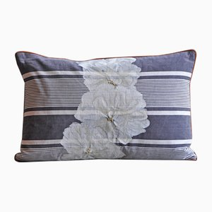 Flowers and Stripes Due Cushion from GAIADIPAOLA