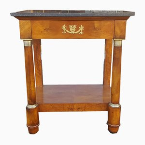 19th-Century Empire Console Table
