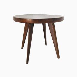 Mesa de centro vintage de madera, años 60