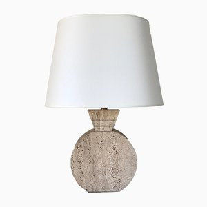 Travertine Table Lamp, 1960s