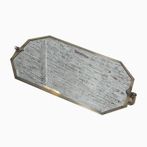 Espejo Art Déco biselado, años 30