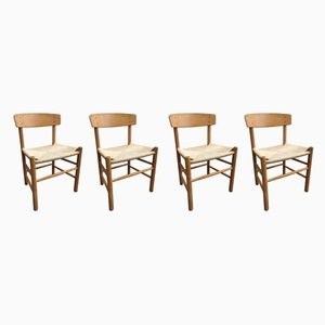 Dining Chairs by Børge Mogensen, 1960s, Set of 4