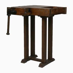 Petite Table de Travail Industrielle Vintage, 1930s