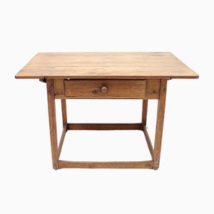 Antique Swedish Pine Worktable
