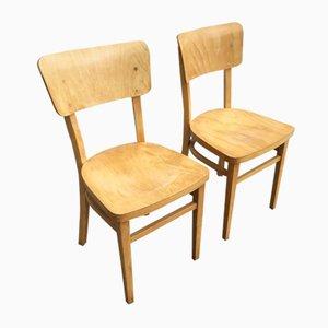 Esszimmerstühle von Thonet, 1960er, 2er Set