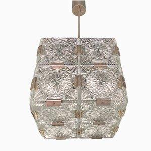 Lampada da soffitto Mid-Century di Kamenický Šenov, anni '70