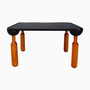 Tavolino da caffè in legno laccato di Achille Castiglioni per Zanotta, anni '70