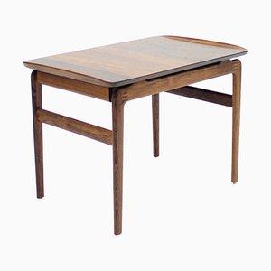Tavolino in palissandro di Peter Hvidt & Orla Mølgaard-Nielsen per France & Søn / France & Daverkosen, anni '50