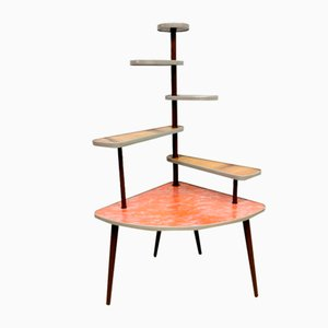 German Formica Multitiered Plant Stand, 1950s