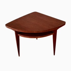 Teak Corner Table, 1960s