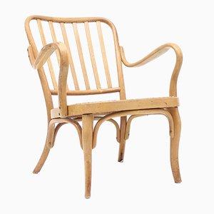 Modell A 752 Bugholz Stuhl von Josef Frank für Thonet, 1930er