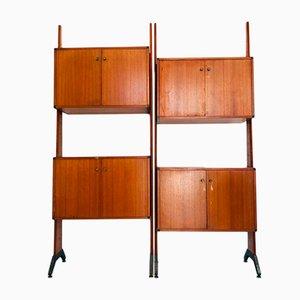 Vintage Scandinavian Bookcase, 1960s