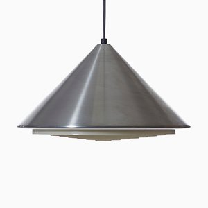 Model Classic Aluminum Ceiling Lamp by Johannes Hammerborg for Fog & Mørup, 1960s