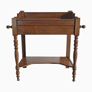 Table Console Antique en Noyer