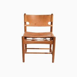 Modell 3251 Hunting Chair von Børge Mogensen für Fredericia, 1960er