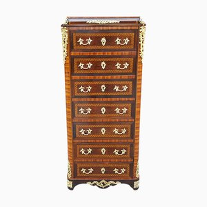 19th-Century Napoleon III Inlaid Secretaire