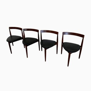 Dining Chairs by Hans Olsen for Frem Røjle, 1960s, Set of 4