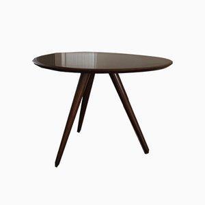 Tavolino in mogano, anni '50