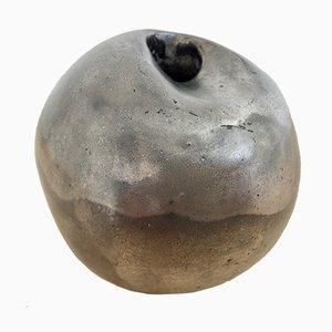 Emaillierte belgische Keramikskulptur von Annie Palisot, 1970er